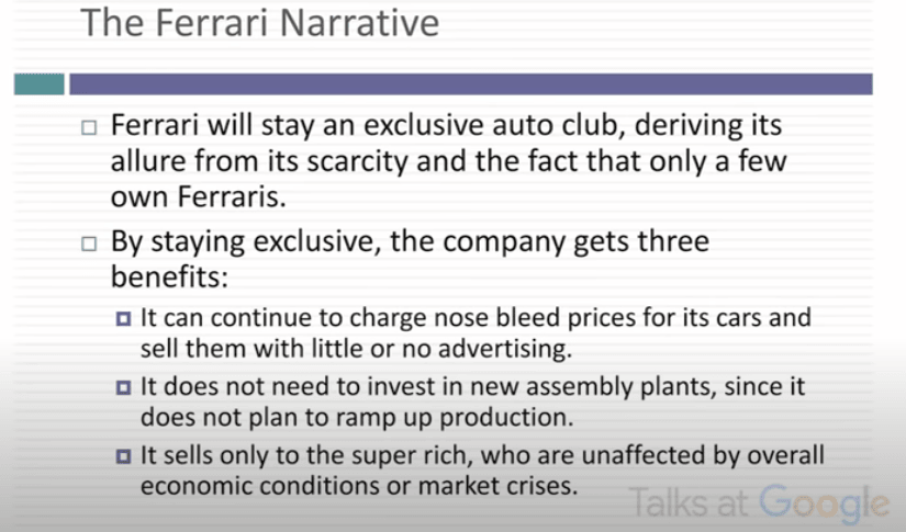 Ferrari Narrative